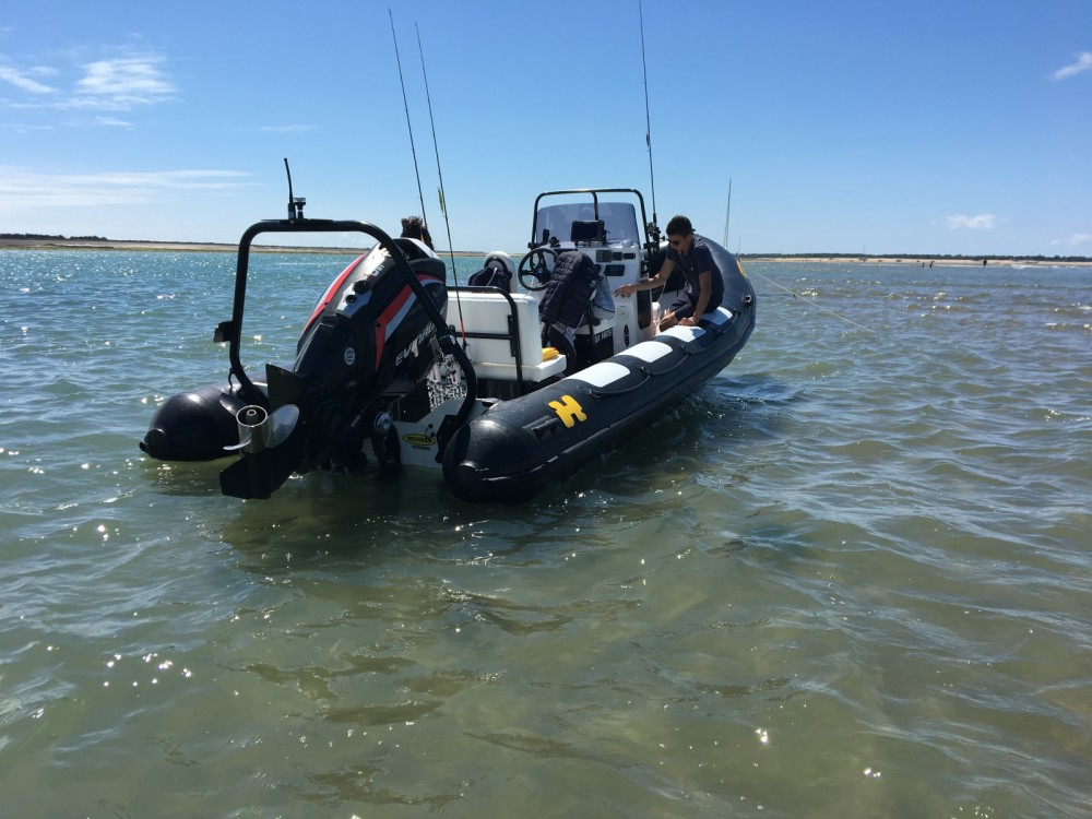 Hire RIB with or without skipper Humber Saint-Martin-de-Ré