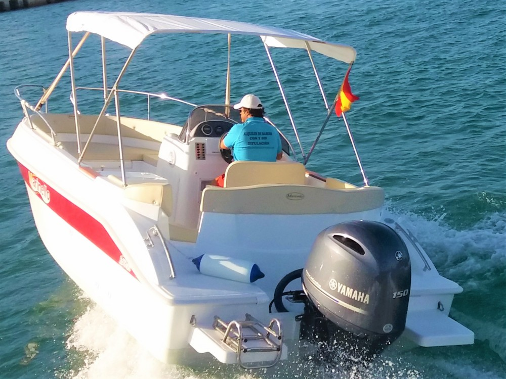 Hire Motor boat with or without skipper Marinello Torrevieja