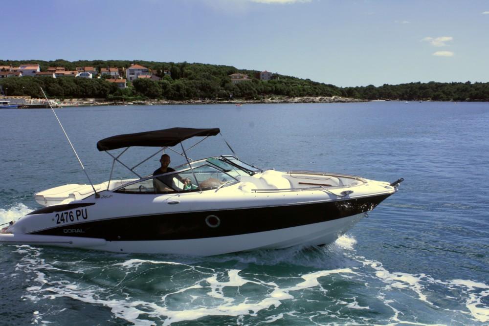Boat rental ACI Marina Pula cheap 265 Elite BR