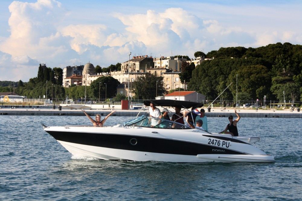 Motorboat for rent Grad Pula at the best price