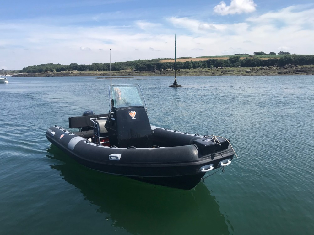 Rental RIB Northstar with a permit
