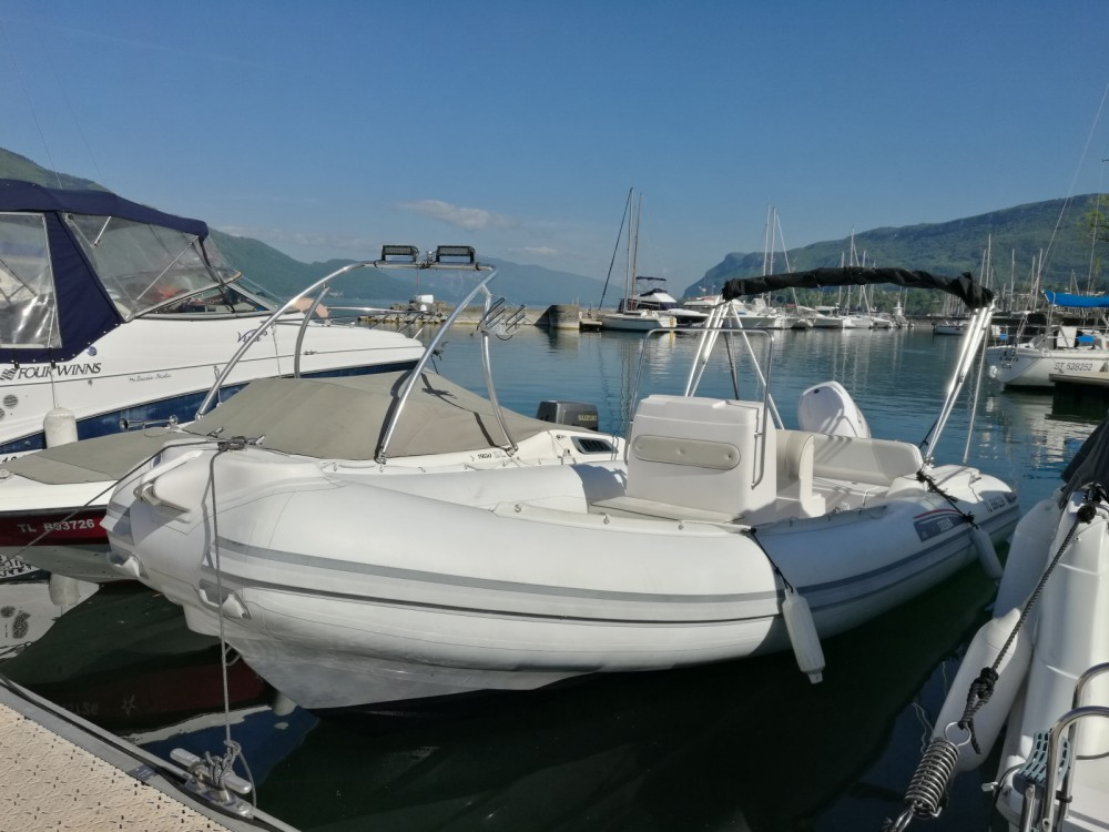 Hire RIB with or without skipper Selva Aix-les-Bains
