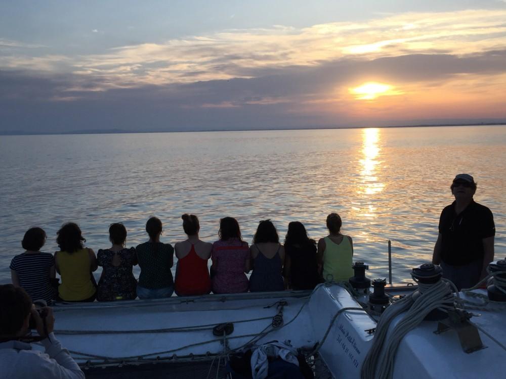 Boat rental Le Grau-du-Roi cheap catamaran de course 60'