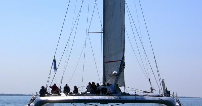 Boat rental Port-Camargue cheap catamaran de course 60'