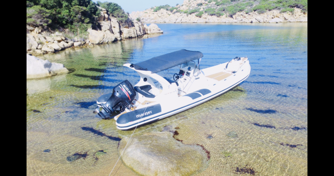 Hire RIB with or without skipper Mar.Co Campomoro