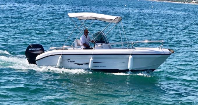 Boat rental Saint-Raphaël cheap Voyager 18 S