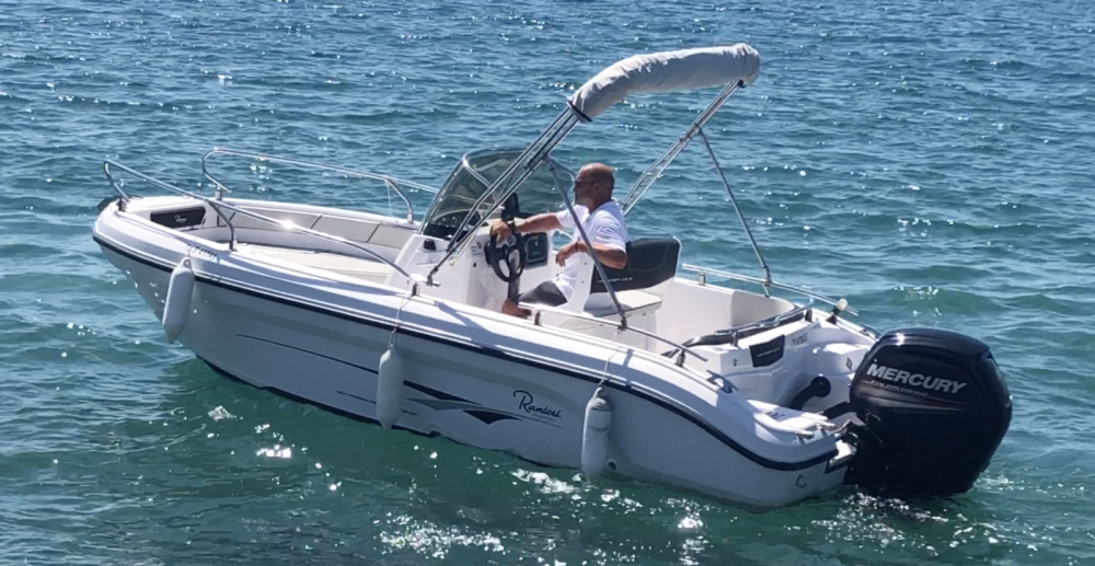 Boat rental Fréjus cheap Voyager 18 S