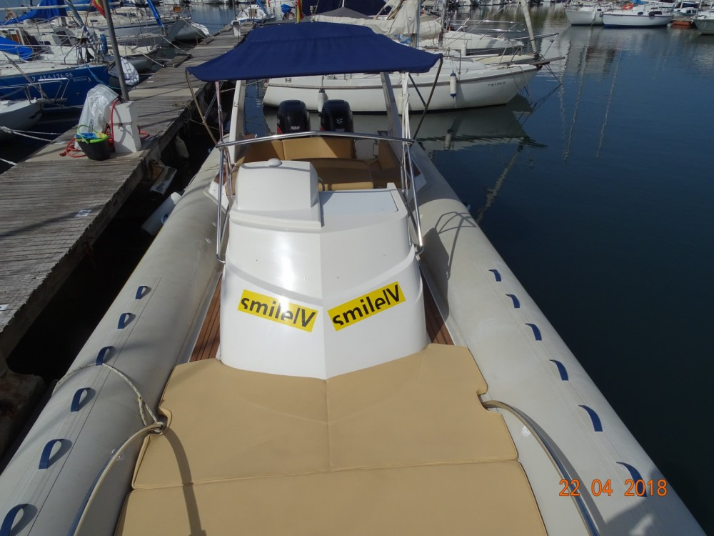 Rental RIB in Palma - Capelli Tempest 1000 Sun