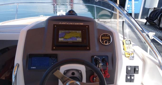 Boat rental Jeanneau Cap Camarat 7.5 WA in Saint-Philibert on Samboat