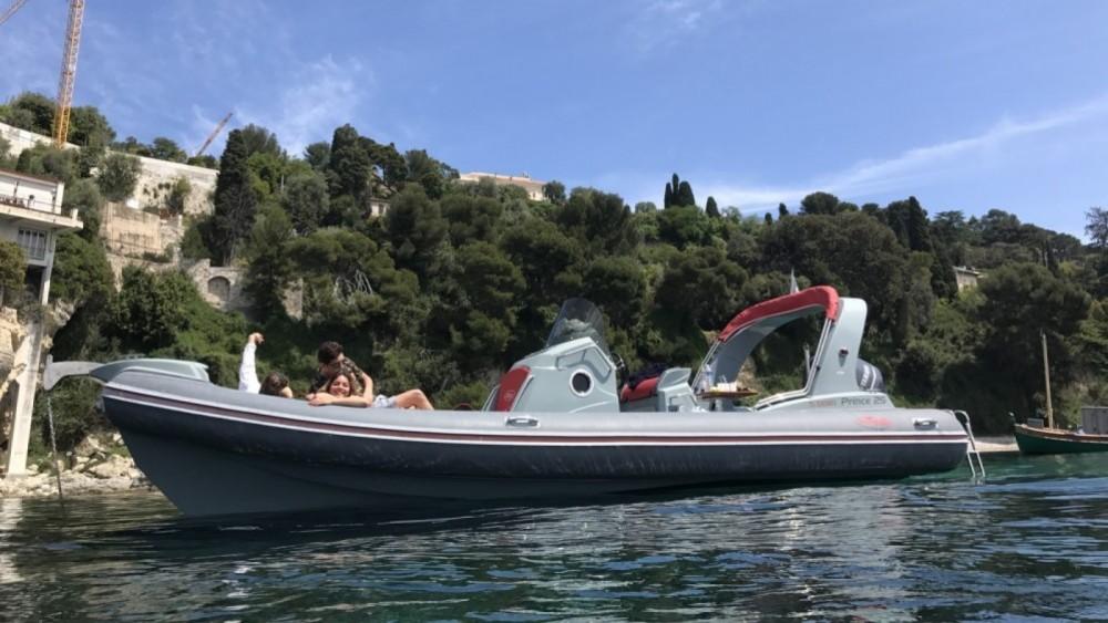 Rental RIB Nuova Jolly with a permit