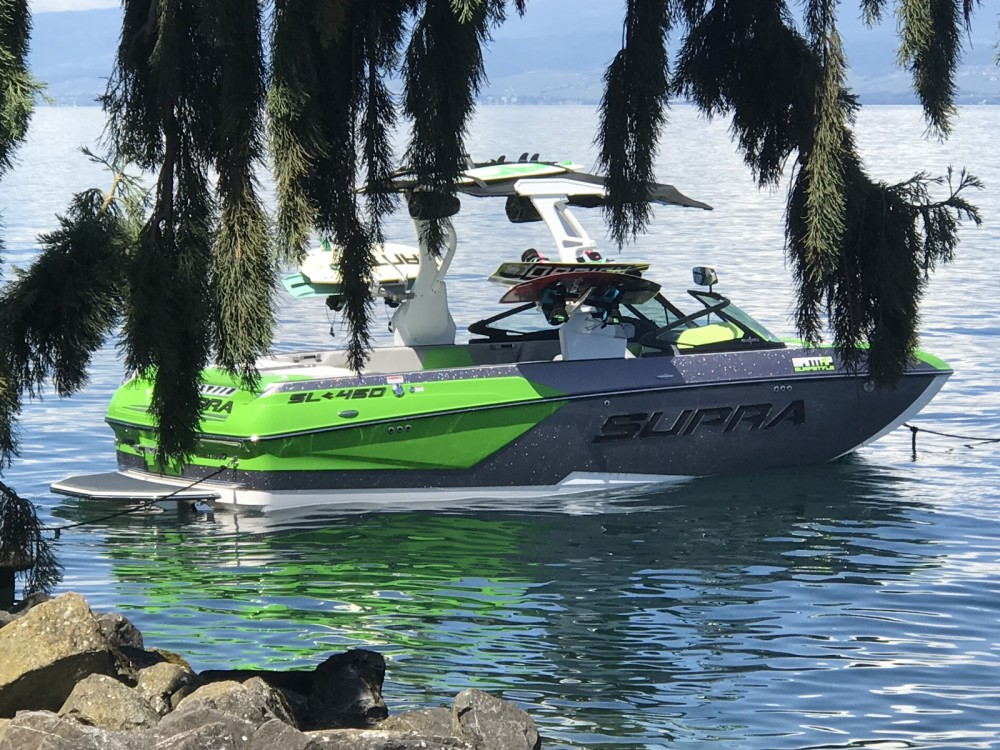 Hire Motor boat with or without skipper Supra Évian-les-Bains