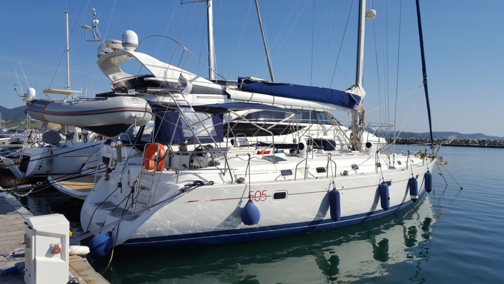 Bénéteau Beneteau 50 between personal and professional Ajaccio