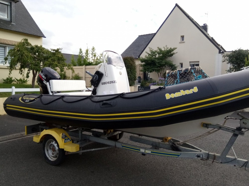 Boat rental Bombard Explorer 500 DB in Pléneuf-Val-André on Samboat