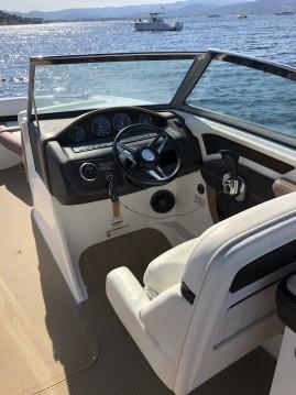 Boat rental Sainte-Maxime cheap Cobalt 26SD