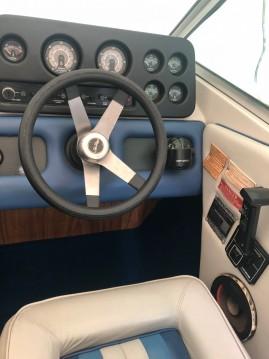Rental Motorboat in La Tour-du-Meix - Sea Ray Seville 20