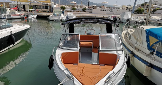 Hire Motorboat with or without skipper Coaster Altea