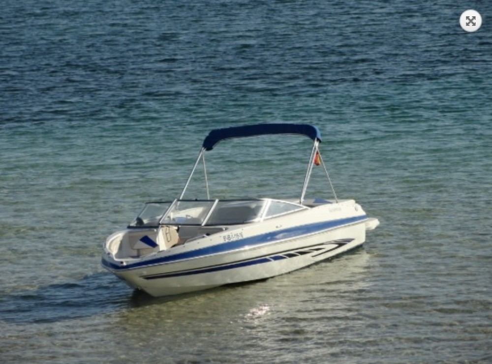 Glastron GT 225 between personal and professional Isole Baleari