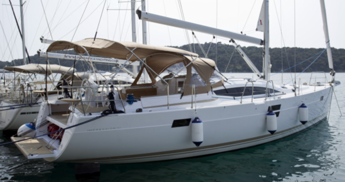 Hire Sailboat with or without skipper Elan Trogir