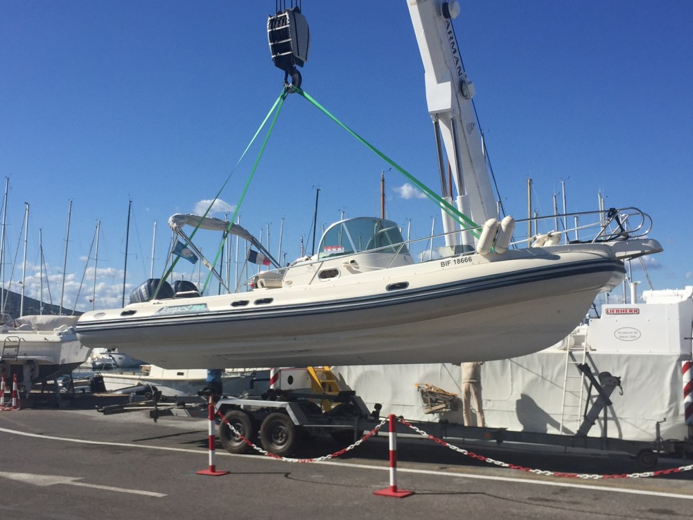 RIB for rent Ramatuelle at the best price