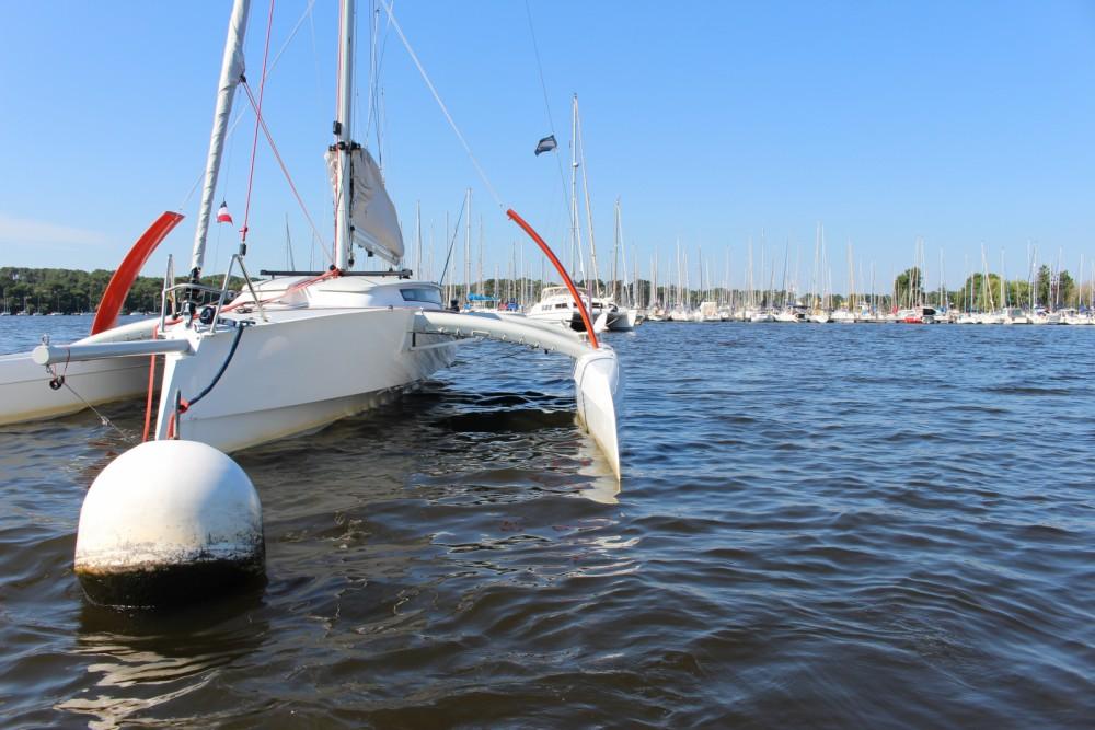 Rental Catamaran Radikal with a permit