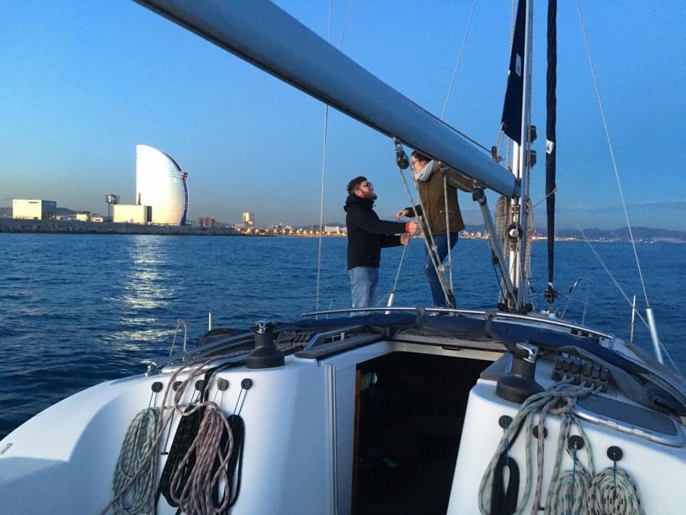 Boat rental Barcelona cheap Sun Odyssey 39i