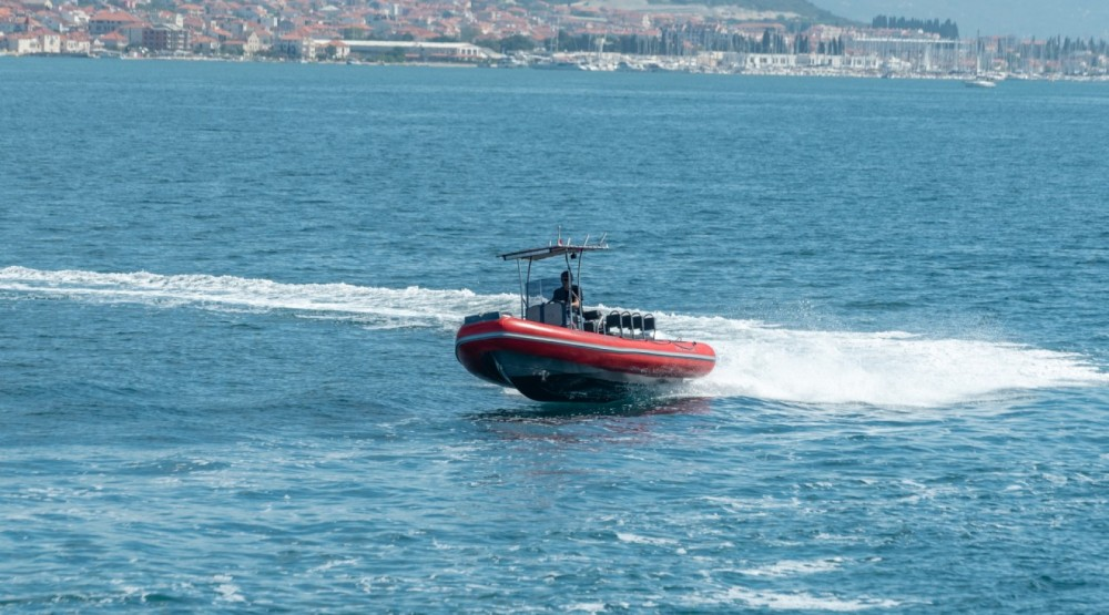 Hire RIB with or without skipper Ris Marine Trogir