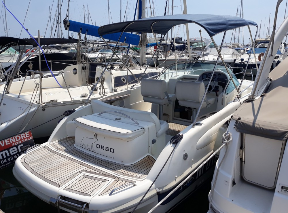 Rental Motor boat Rio with a permit