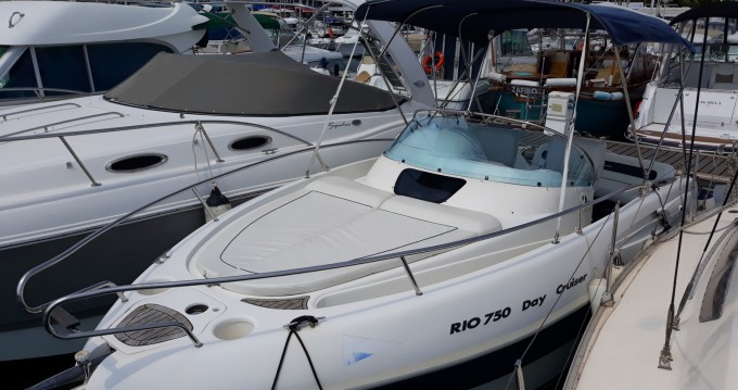 Hire Motorboat with or without skipper Rio Mandelieu-la-Napoule