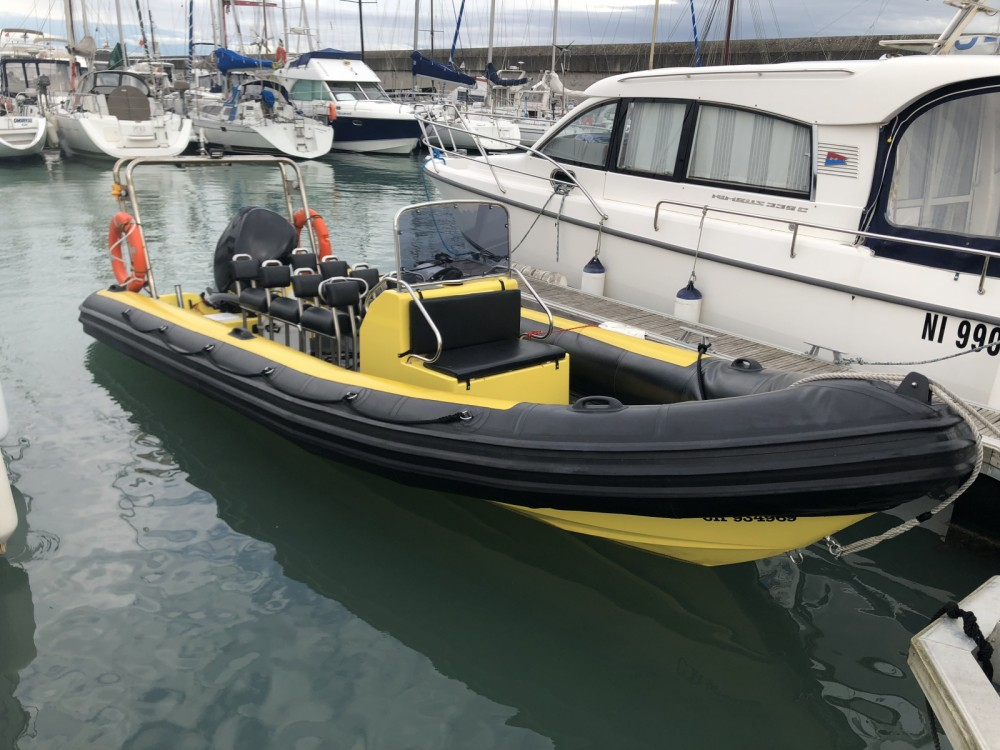 Rental RIB in Granville - Tornado super7