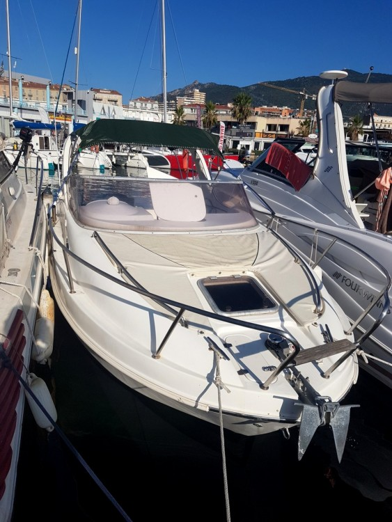 Hire Motor boat with or without skipper Saver Ajaccio