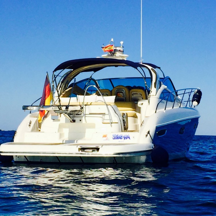 Hire Motor boat with or without skipper Cranchi Marina Botafoch