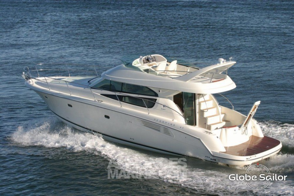 Rental Motor boat Prestige with a permit