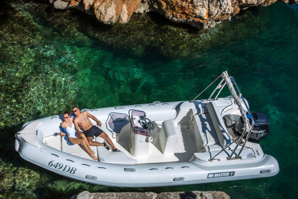 Hire RIB with or without skipper Master Gommoni Dubrovnik