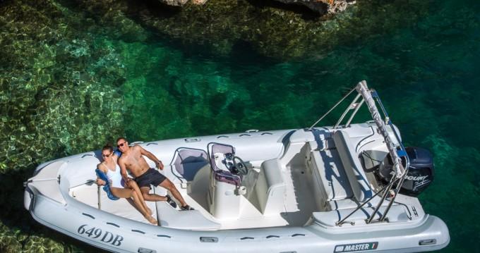 Rent a Master Master 660 OPEN Dubrovnik