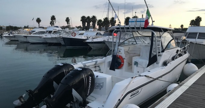 Hire Motorboat with or without skipper Boston Whaler Marzamemi