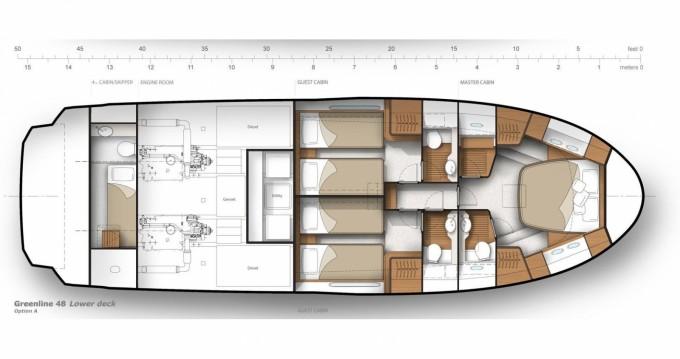 Rental yacht Biograd na Moru - Greenline Greenline 48 Fly on SamBoat