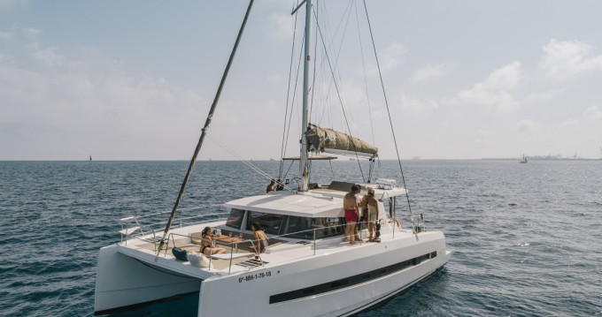 Hire Catamaran with or without skipper Bali Catamarans Barcelona