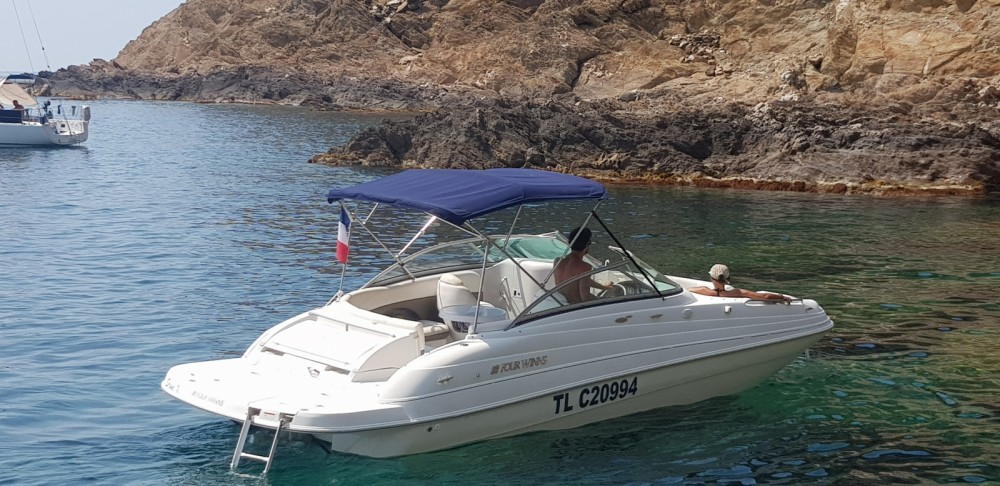 Hire Motorboat with or without skipper Four Winns Le Lavandou