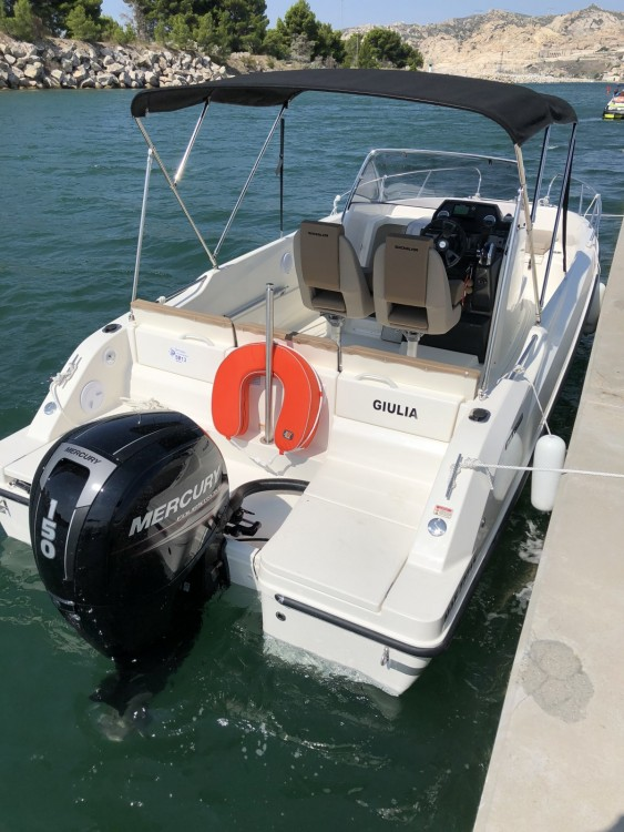 Rental Motor boat in  - Quicksilver Activ 675 Open Sport