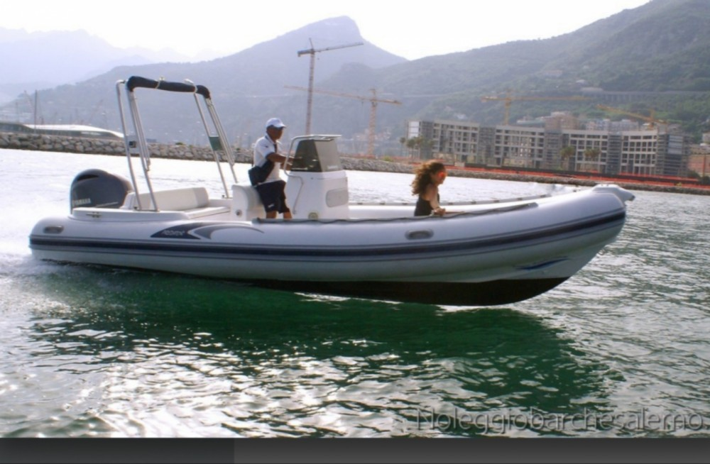 Rent a MRL Ribs PREDATOR 6,80 Salerno