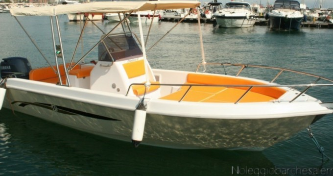 Hire Motorboat with or without skipper Terminal Boat Salerno