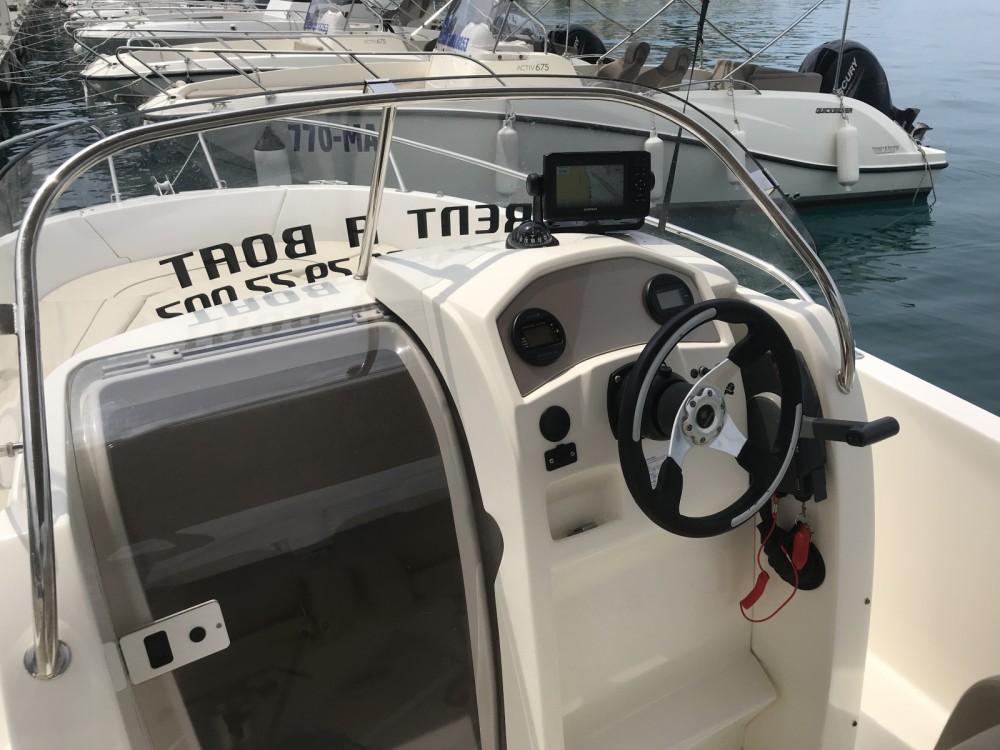 Boat rental Makarska cheap Cap Camarat 635