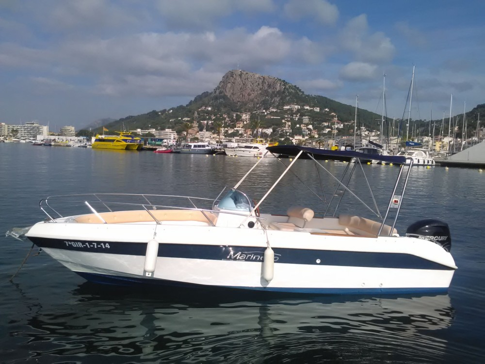 Hire Motor boat with or without skipper Marinello