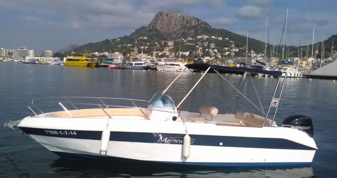 Boat rental l'Estartit cheap Eden 22