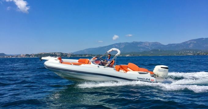 Boat rental Porto-Vecchio cheap Marlin Boat 24SR
