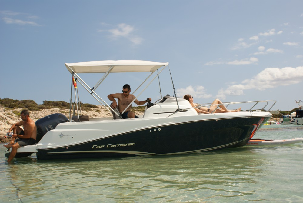 Boat rental Jeanneau Cap Camarat 6.5 WA in Ibiza on Samboat