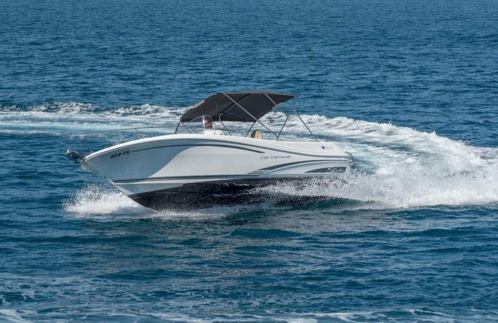 Rental Motor boat in Seget Vranjica - Jeanneau Cap Camarat 7.5 Open