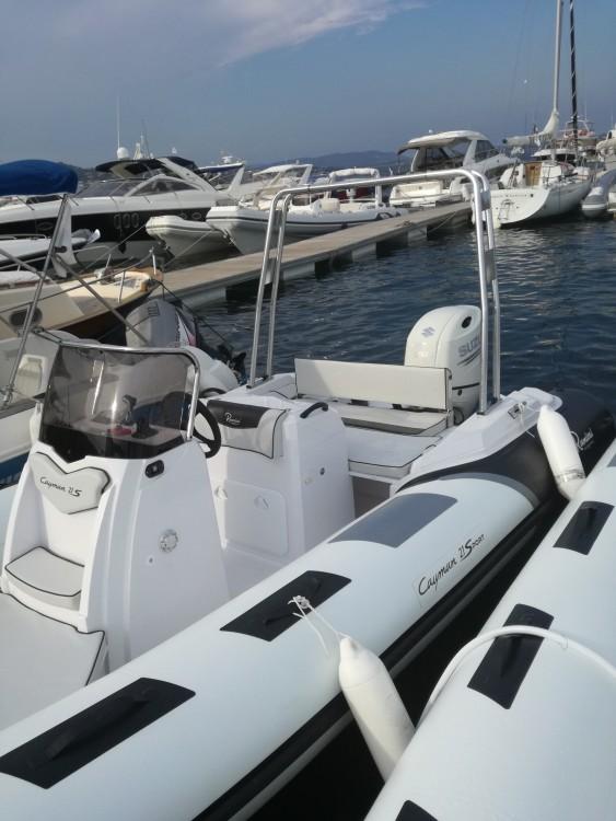 Boat rental Porto-Vecchio cheap Cayman 21 Sport