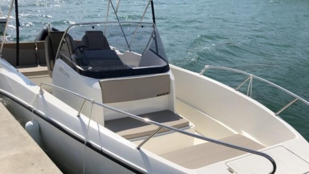 Boat rental Quicksilver Activ 675 Open Sport in  on Samboat