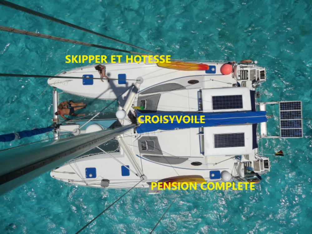 Boat rental Catana Catana 411 in Le Marin on Samboat